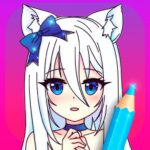 Anime Manga Coloring Pages with Animated Effects MOD Unlimited Money 4.4