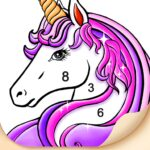 Tap Color- Color by Number Art Coloring Game MOD Unlimited Money 4.1.1