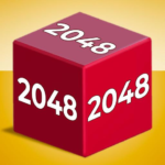 Chain Cube 2048 3D merge game MOD Unlimited Money 1.26.03