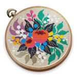 Cross Stitch Club Color by Numbers with a Hoop MOD Unlimited Money 1.4.24