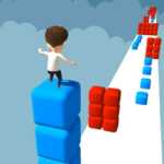 Cube Tower Stack Surfer 3D – Race Free Games 2020 MOD Unlimited Money 1.3