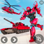Helicopter Transform War Robot Hero Tank Shooting MOD Unlimited Money 1.1