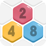 HexPopMake number to 2048Free Merge PuzzleGames MOD Unlimited Money 1.601
