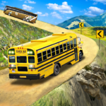 Offroad School Bus Driving Flying Bus Games 2020 MOD Unlimited Money 1.35