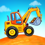 Truck games for kids – build a house car wash MOD Unlimited Money 4.0.13