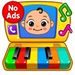 Baby Games – Piano Baby Phone First Words MOD Unlimited Money 1.2.2