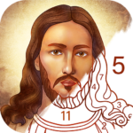 Bible Coloring – Paint by Number Free Bible Games MOD Unlimited Money 2.12.0