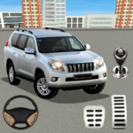 Real Prado Car Parking Games 3D Driving Fun Games MOD Unlimited Money 2.0.068