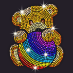 Diamond Coloring – Sequins Art Paint by Numbers MOD Unlimited Money 1.4.0