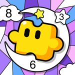 Jigsaw Coloring Number Coloring Art Puzzle Game MOD Unlimited Money 1.1.0