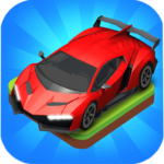 Merge Car game free idle tycoon MOD Unlimited Money 1.1.57