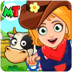 My Town Farm Life Animals Game for Kids Free MOD Unlimited Money 1.06