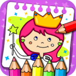 Princess Coloring Book Games MOD Unlimited Money 1.44