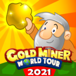 Gold Miner World Tour Gold Rush Puzzle RPG Game MOD Unlimited Money 1.7.11