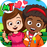 My Town Best Friends House games for kids MOD Unlimited Money 1.04