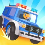 Dinosaur Police Car – Police Chase Games for Kids MOD Unlimited Money 1.1.3