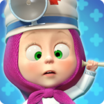 Masha and the Bear Free Animal Games for Kids MOD Unlimited Money 3.9.9