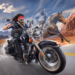 Outlaw Riders War of Bikers MOD Unlimited Money 0.2.1