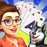 Solitaire Pet Haven – Relaxing Tripeaks Game MOD Unlimited Money 3.1.4