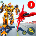 Air Robot Game – Flying Robot Transforming Plane MOD Unlimited Money