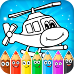 Coloring pages for children transport MOD Unlimited Money 1.0.14