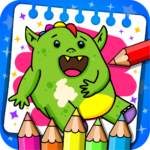 Fantasy – Coloring Book Games for Kids MOD Unlimited Money 1.21