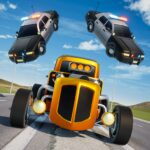 Mini Car Games Police Chase MOD Unlimited Money