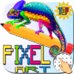Pixel art. Colored by number MOD Unlimited Money