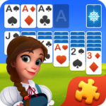 Solitaire Jigsaw Puzzle – Design My Art Gallery MOD Unlimited Money