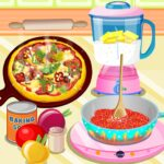 Yummy Pizza Cooking Game MOD Unlimited Money