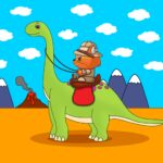 Dinosaur Puzzles for Kids MOD Unlimited Money