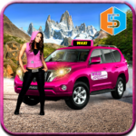 New York Taxi Duty Driver Pink Taxi Games 2018 MOD Unlimited Money